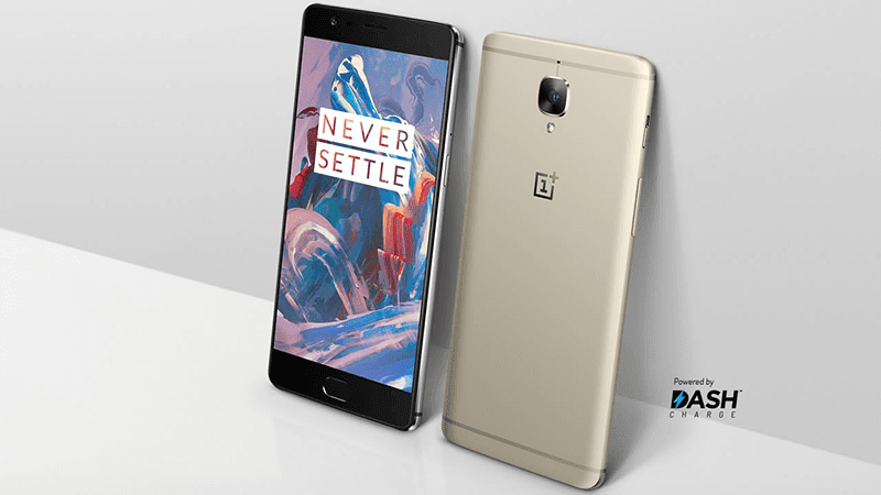 Another look at the soft gold variant of OnePlus 3T