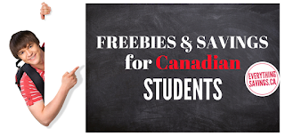 Free Stuff & Savings For Students in Canada