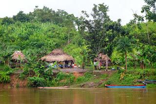 Poblado indigena en Darién