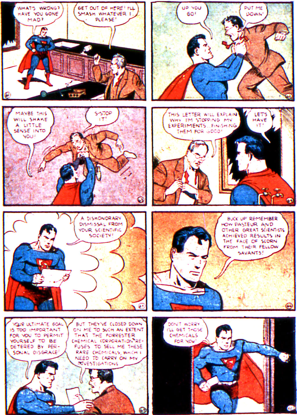 Read online Action Comics (1938) comic -  Issue #19 - 11