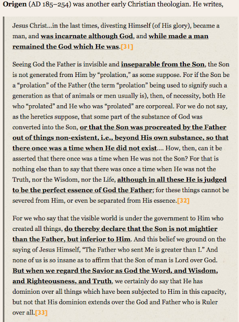https://www.str.org/blog/nine-early-church-fathers-who-taught-jesus-god#.WtX1NK3MygR WHO Were, And ARE The FALSE P