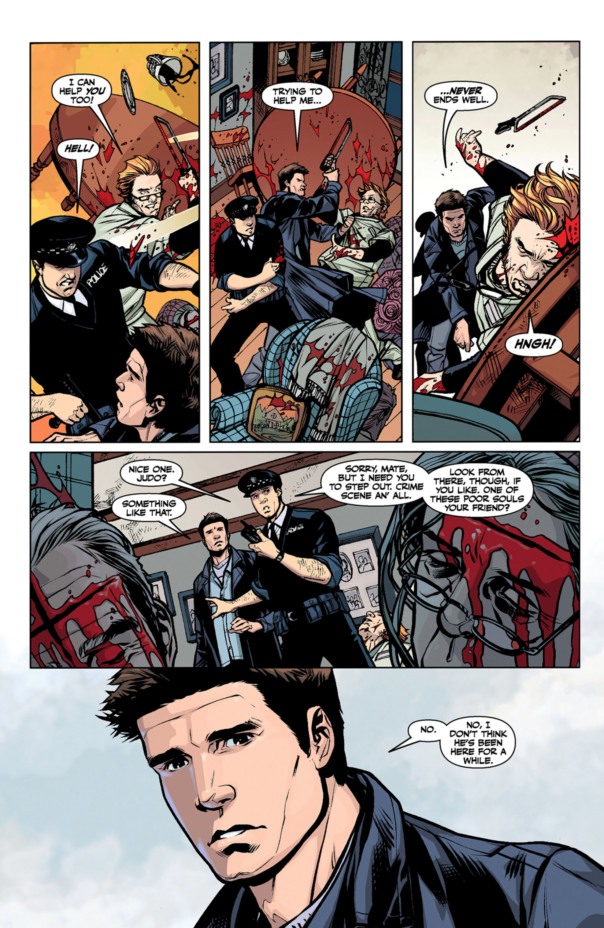 Read online Angel and Faith comic -  Issue #6 - 7