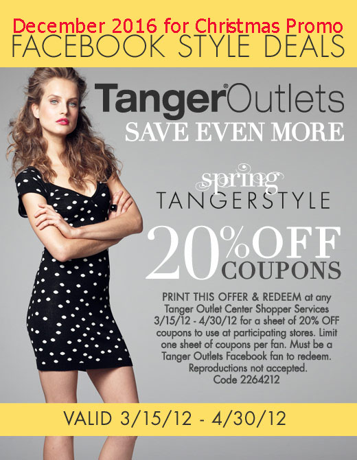 printable coupons 2018 tanger outlet coupons. Black Bedroom Furniture Sets. Home Design Ideas