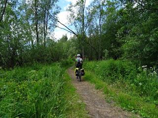 Primeros kilómetros del Camino de St Olav