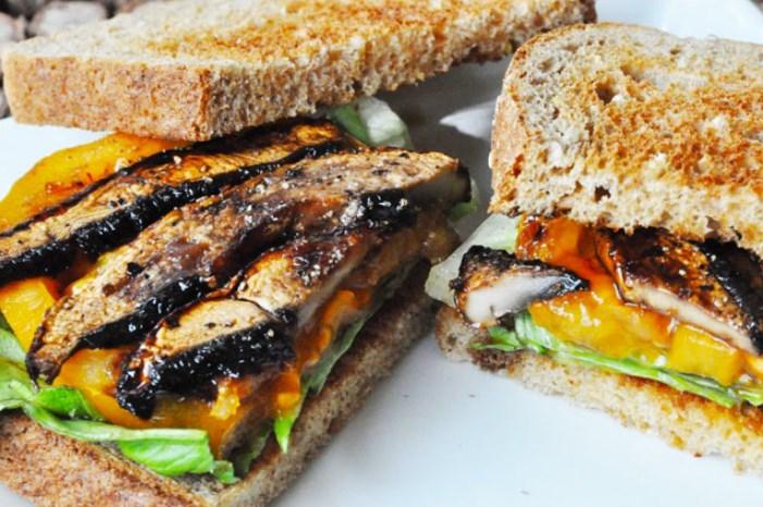 Portobello Mushroom Bacon #bacon #vegetarian