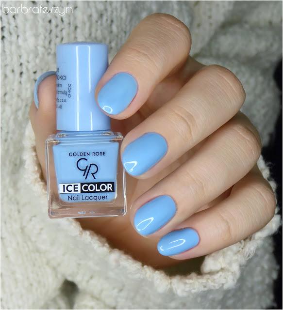 błękitne lakiery do paznokci