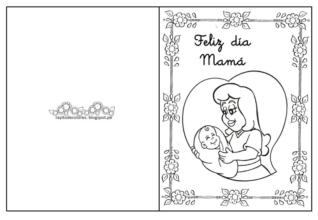 Imagenes Para Colorear De Mamá