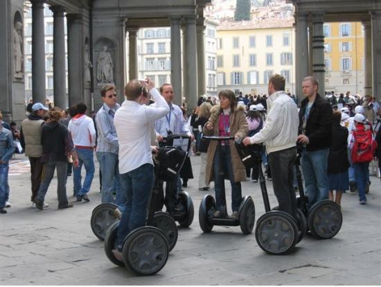 Ingressos para tour de Segway com almoço em Florença