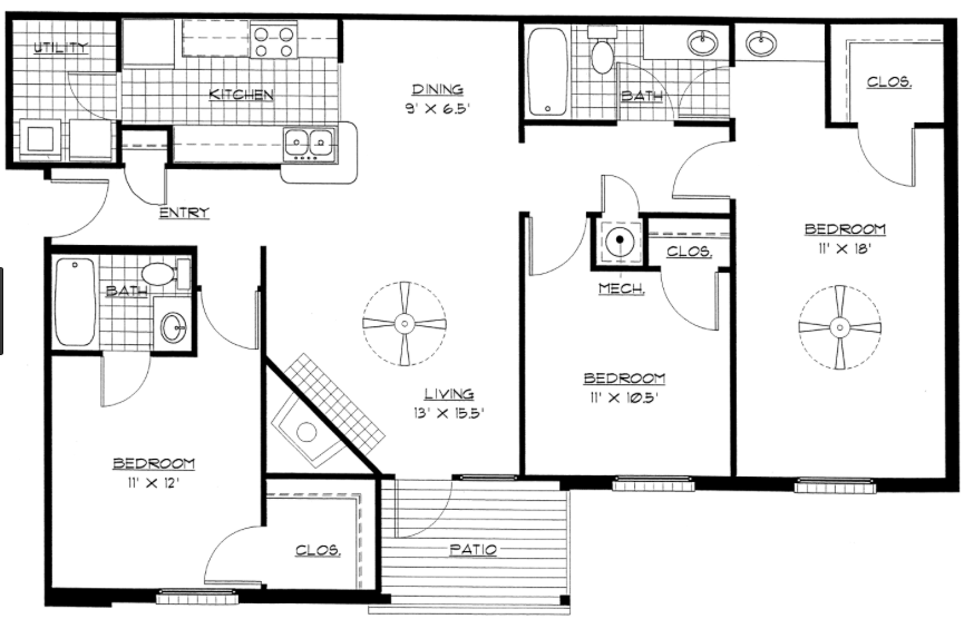 Sample home floor plans that work for my family rand4design for My family house plans