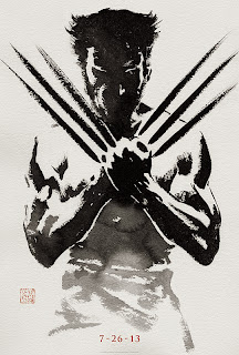 The Wolverine 2013 Hugh Jackman Logan poster based on Chris Claremont and Frank Miller's 1982 limited series