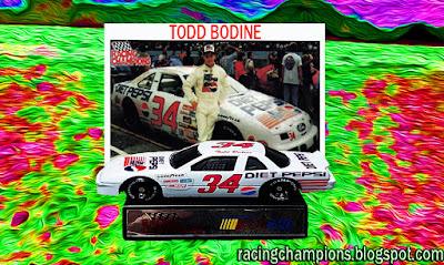 Todd Bodine Diet Pepsi Racing Champions 1/64 NASCAR diecast blog 1992 Watkins Glen