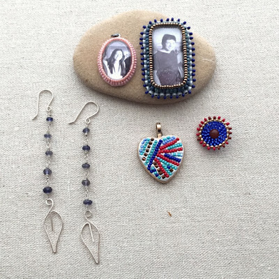 beadwork projects at Lisa Yang's Jewelry blog - All free tutorials! Yay!