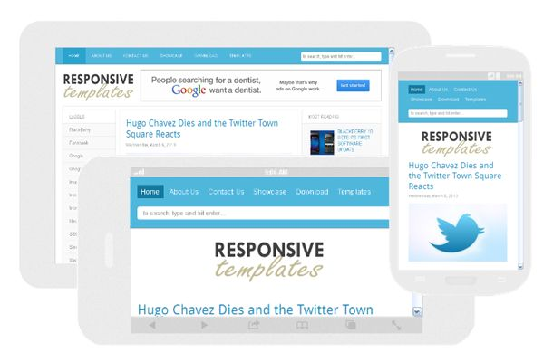 Responsive Template 2013
