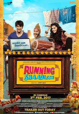 Running Shaadi 2017 Hindi DVDRip 720p 550mb HEVC x265