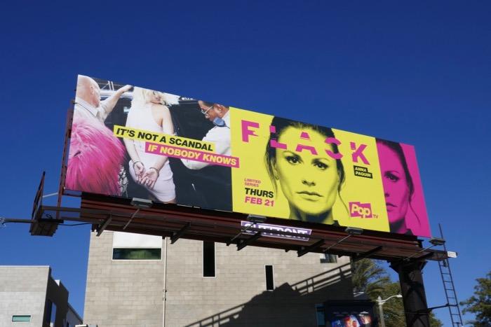 Anna Paquin Flack series billboard