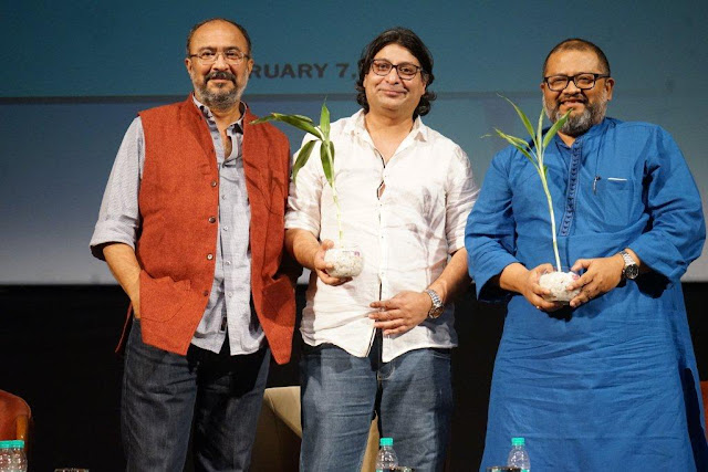 Anjum Rajabali,Ritesh Rajabali, Aniruddha Roy Chowdhary