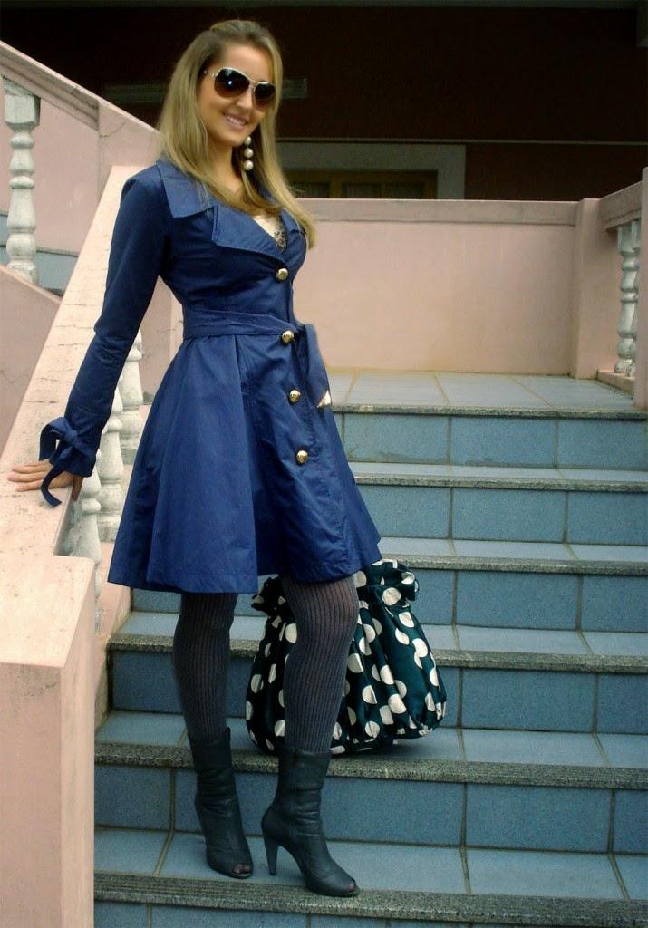 modelos de vestidos jeans para inverno - dicas e fotos