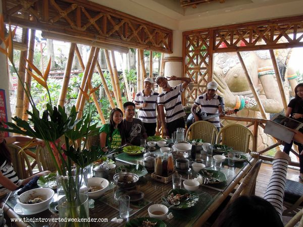 Dining cottage at Isdaan Floating Restaurant