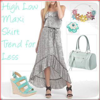Maxi skirts are such great fashion for any season of the year. These are great high low skirts for less.