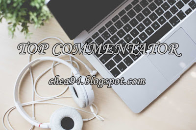 Giveaway Top Commentator by Atiah Mulkan