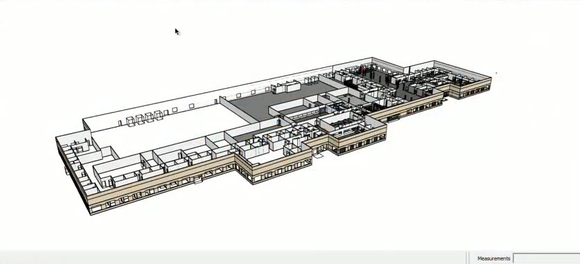 Architecture and design program SketchUp Workflow for