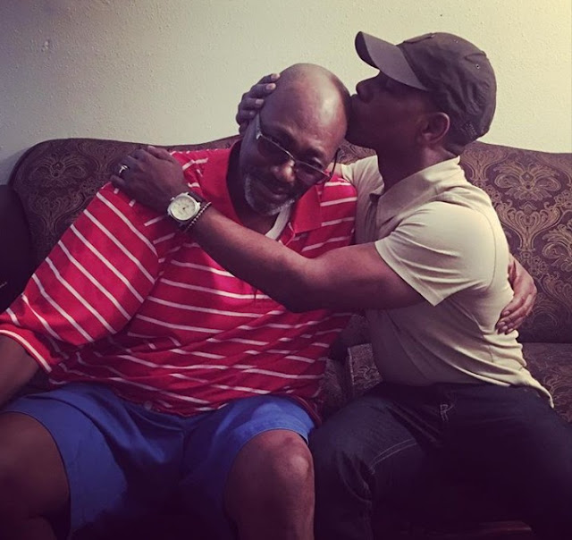 Kirk franklin reunion with his biological father