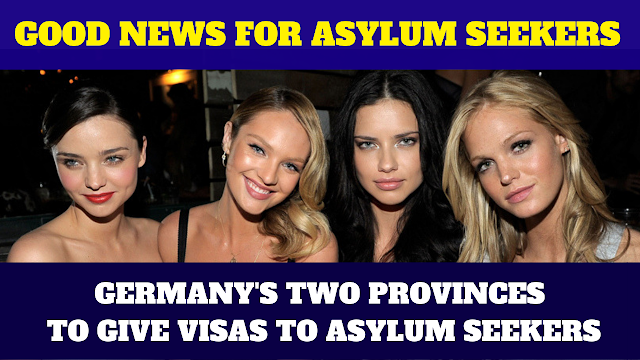 Germany 2 Provinces To Give Asylums Seekers New Law Announcement in 2019,Germany 2 Provinces To Give Asylums