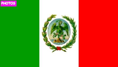 Mexican Flag Emblem Mexican Flag