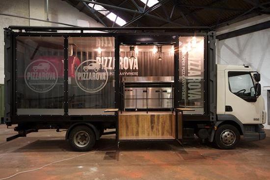 Cafe mobil kontainer inspiratif
