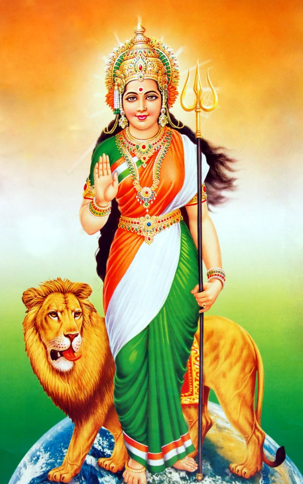 bharat mata with rss flag - photo #29