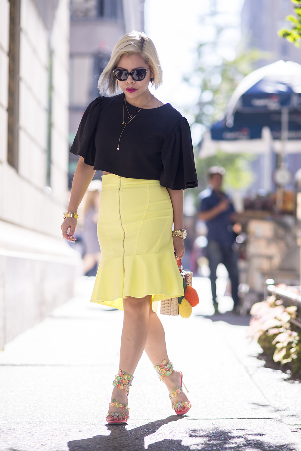 New York Fashion Week 2015- Blogger streetstyle- Crystal Phuong