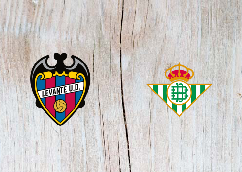 Levante vs Real Betis - Highlights 24 April 2019