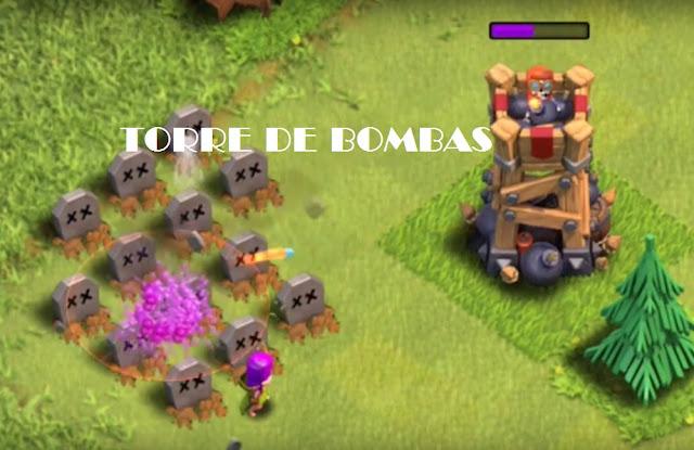 Cómo utilizar Torre De Bombas Clash of Clans