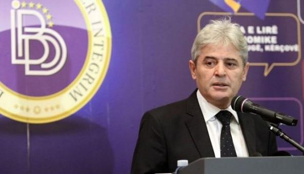 Ali Ahmeti pf DUI