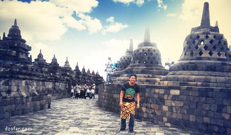 Borobudur dan orang ganteng