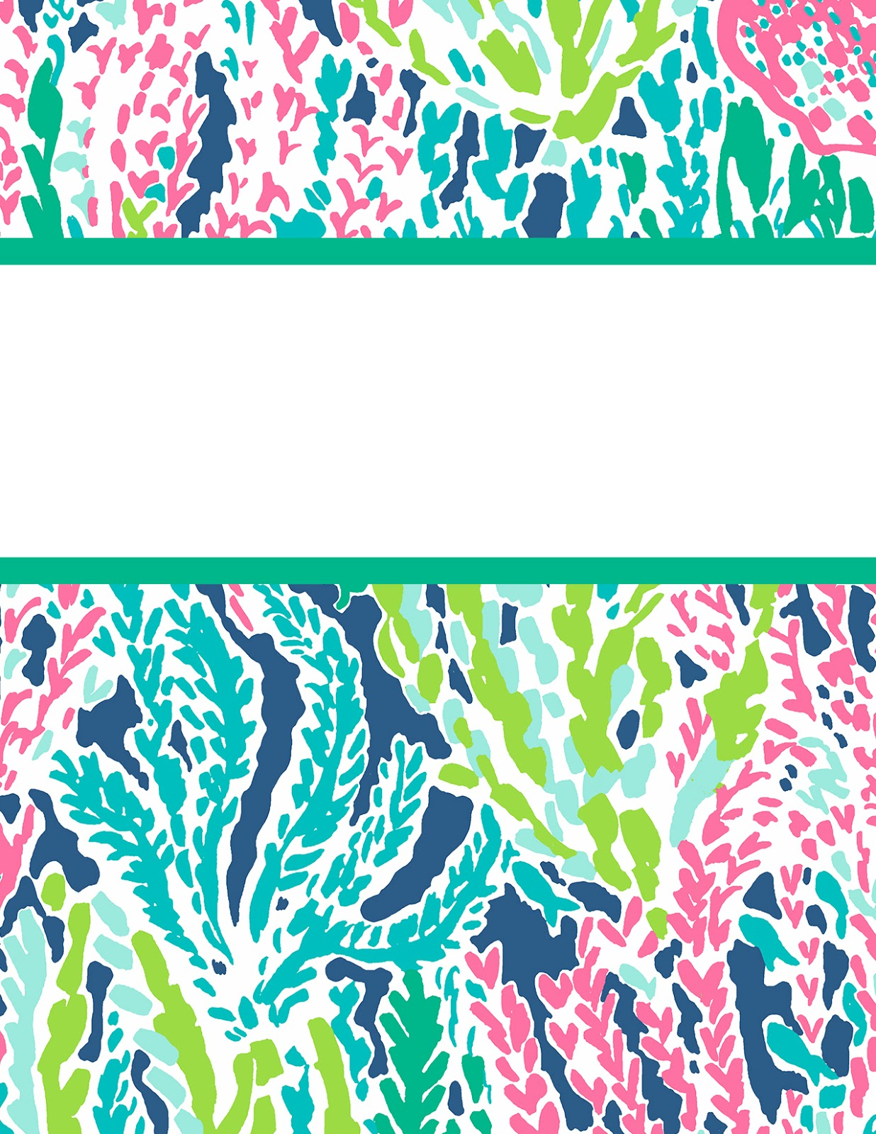 Lilly pulitzer binder covers