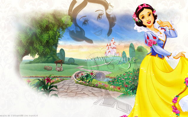 Sweet Snow White, Free Printable Invitations, Labels or Cards.