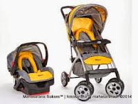 Kereta Bayi Safety 1st Acella LX 01905 Travel System