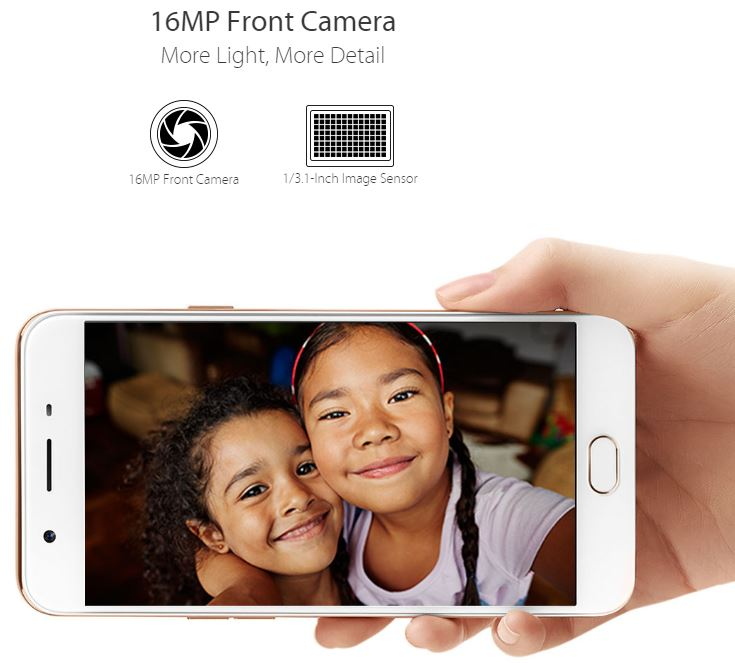 Image result for oppo f1s 16mp front camera