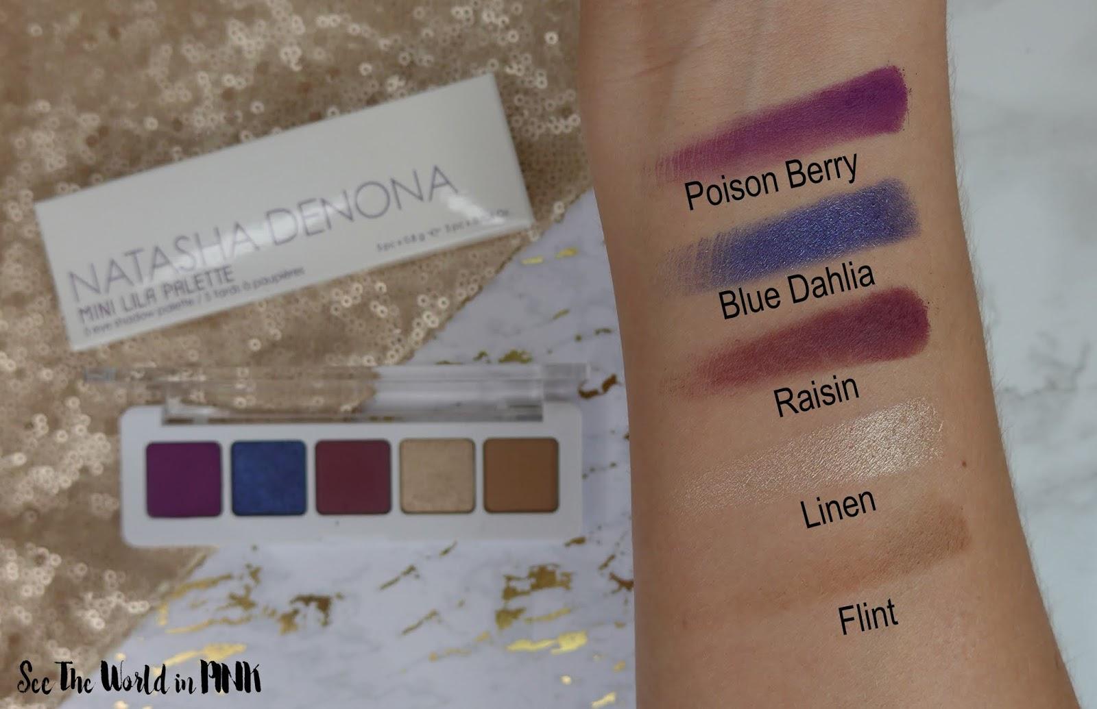 Natasha Denona Mini Lila Eyeshadow Palette - Swatches, Makeup Look and Review!