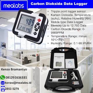 Data Logger atau Perekam Data Karbon Dioksida