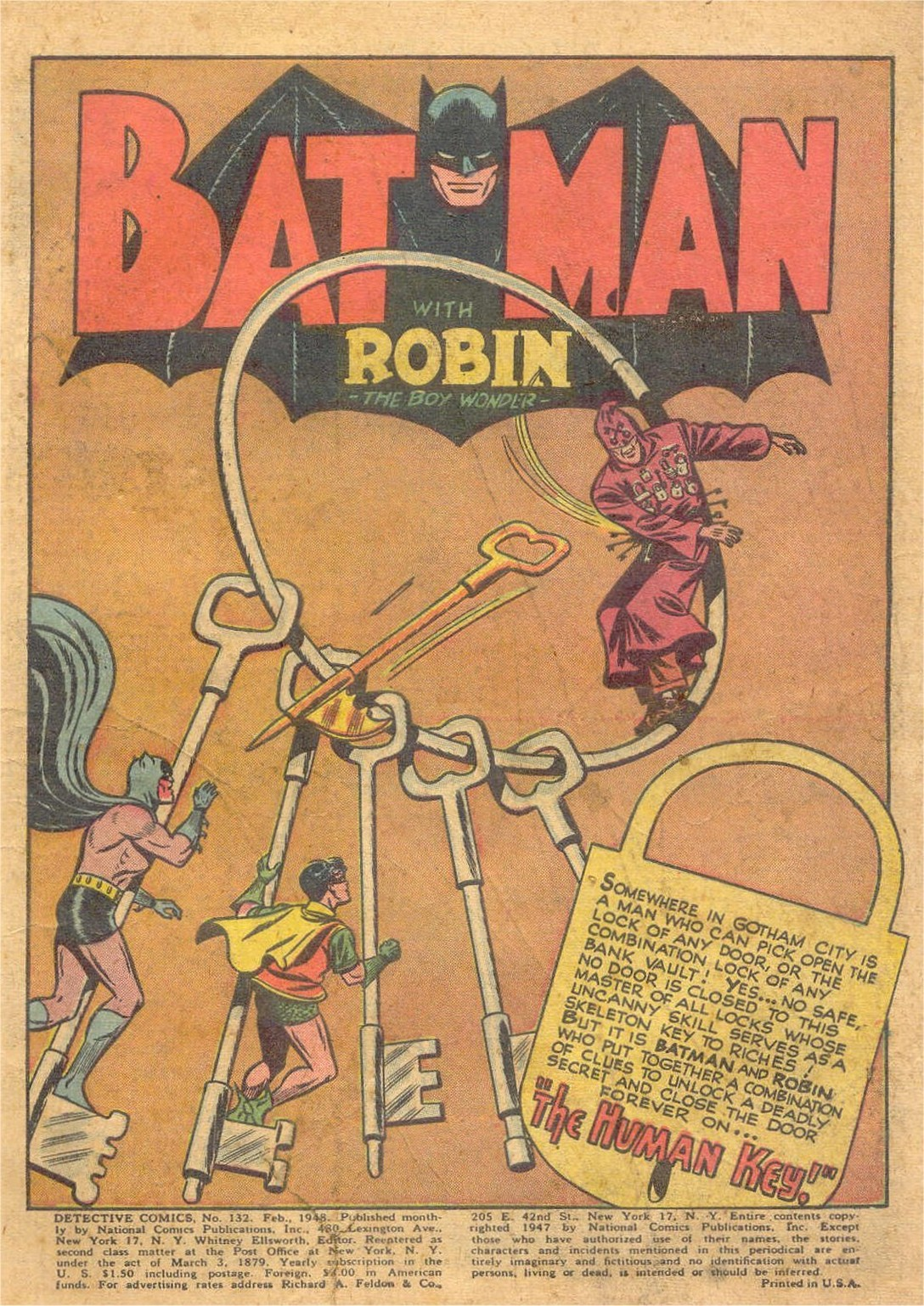 Detective Comics (1937) 132 Page 2