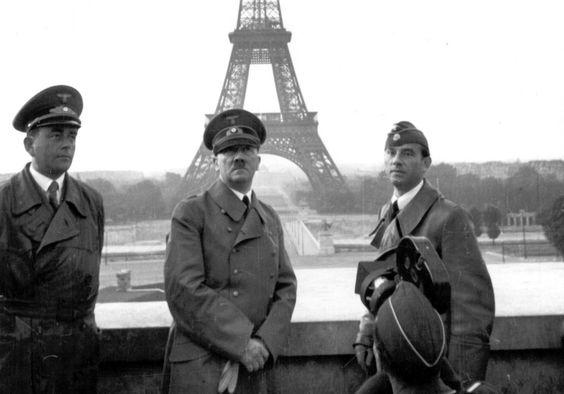 23 June 1940 worldwartwo.filminspector.com Hitler Paris Speer Brekker