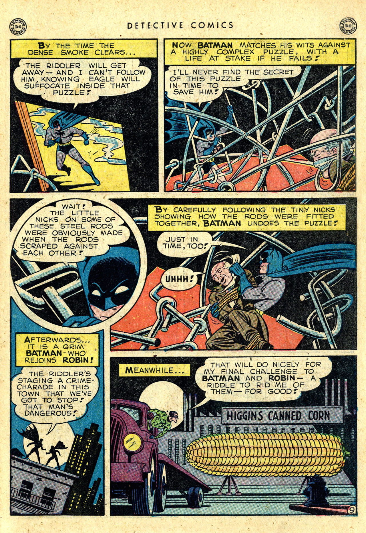 Read online Detective Comics (1937) comic -  Issue #140 - 11