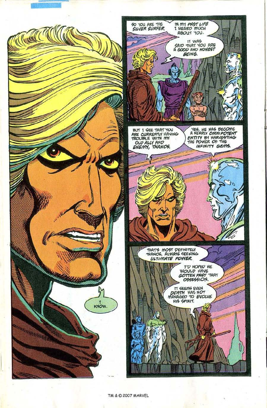 Read online Silver Surfer (1987) comic -  Issue #46 - 22