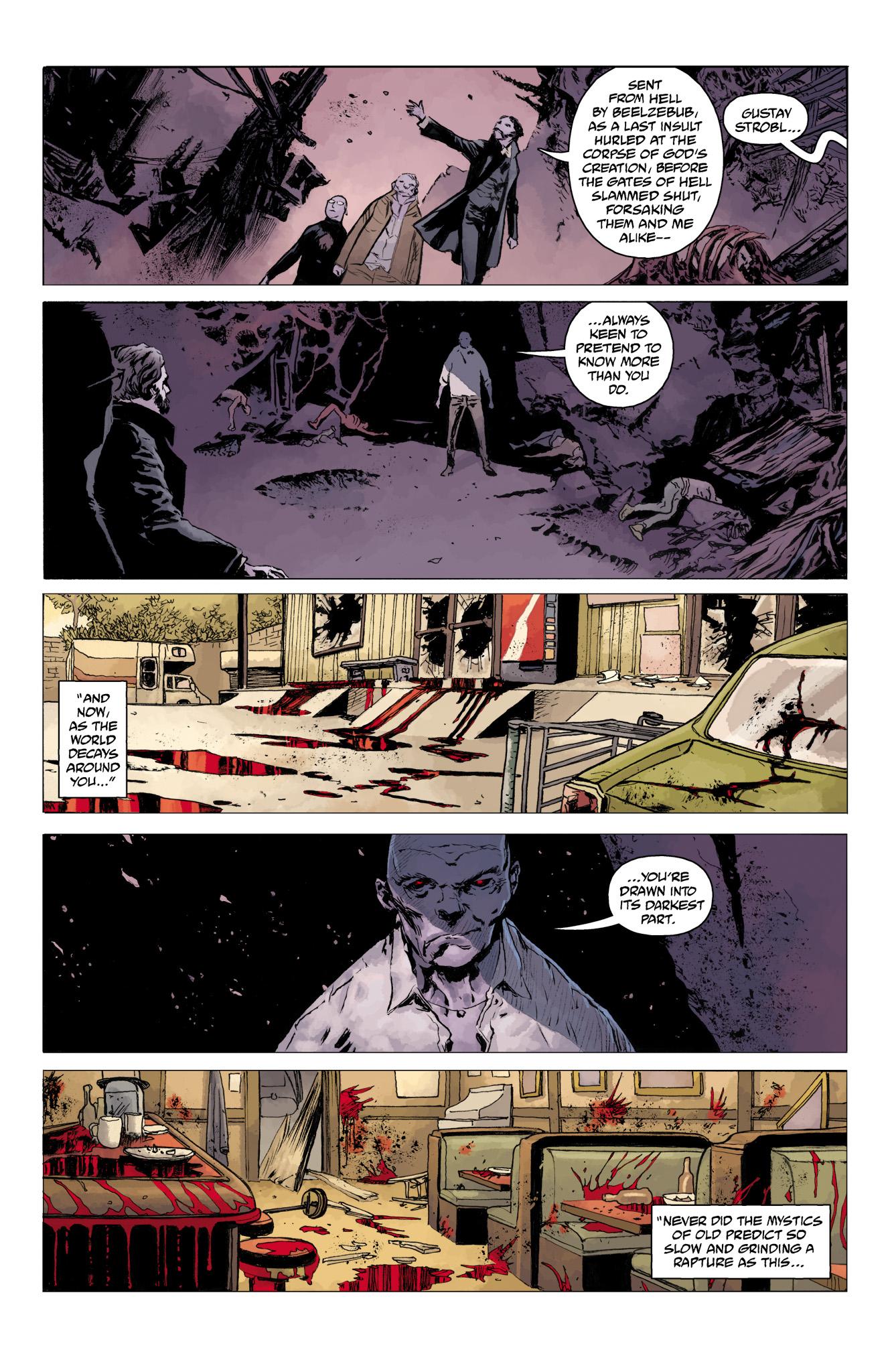 Read online Abe Sapien comic -  Issue #11 - 16