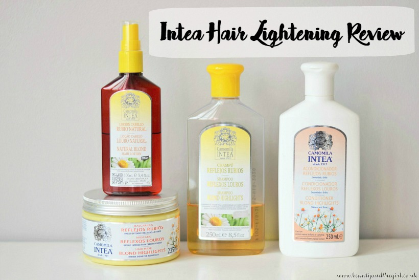 Intea Hair Lightening Review