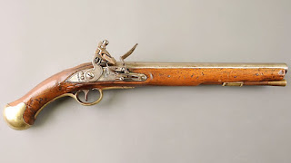 British Sea Service Pistol, pistol, gun, black powder, weapon, history, Nelson, Trafalgar, flintlock, musket, blunderbuss