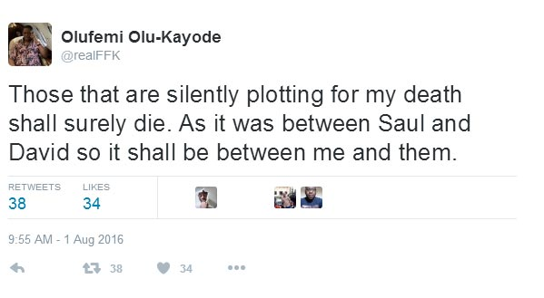 Wait, who annoyed Femi Fani-Kayode again?
