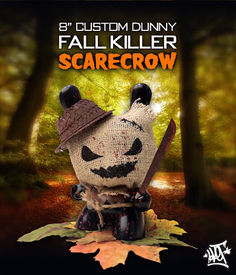 Fall Killer Scarecrow Custom 8 Inch Dunny by Sket-One